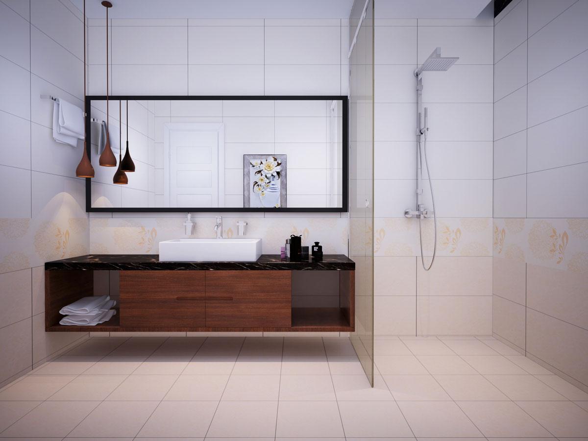 Gạch ốp tường Viglacera 30x60 cho nhà tắm F3618A