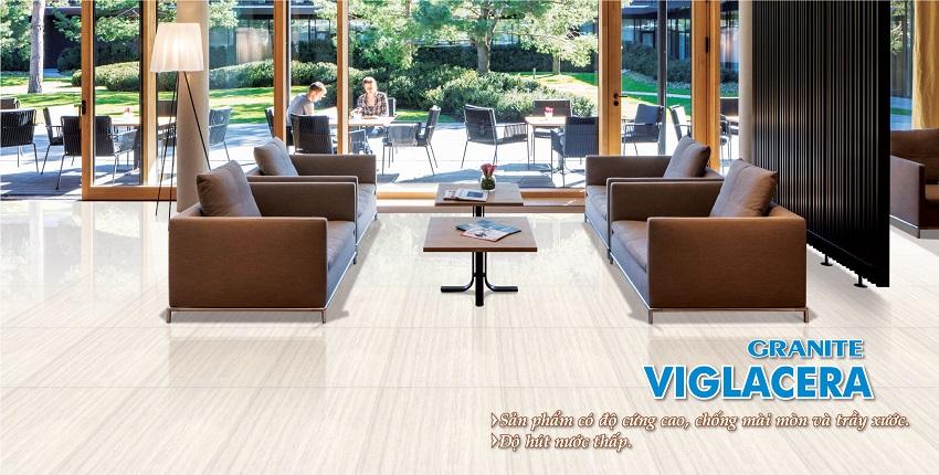 Phòng mẫu Gạch lát nền Viglacera 60x60 TS4-617