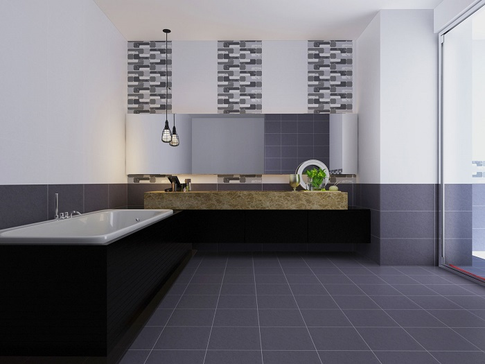 Phòng mẫu Gạch ốp tường Viglacera 30x60 UM3602A