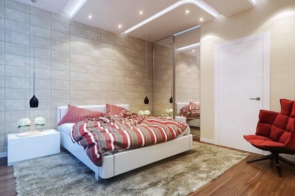 Chọn gạch ốp tường phòng ngủ đẹp hợp phong thủy
