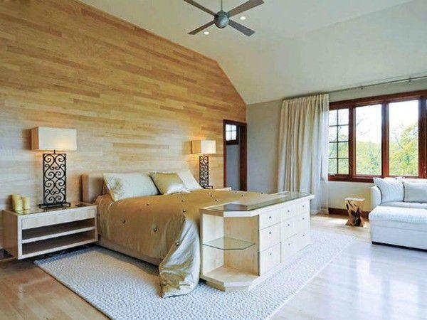 Gạch men Viglacera G403 giả vân gỗ ốp tường cho phòng ngủ đẹp mê