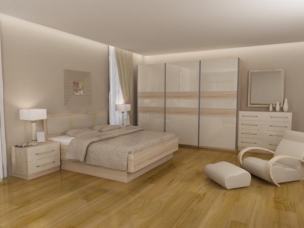 Gạch giả gỗ Viglacera tạo không gian ấm cúng - thư giãn cho phòng ngủ