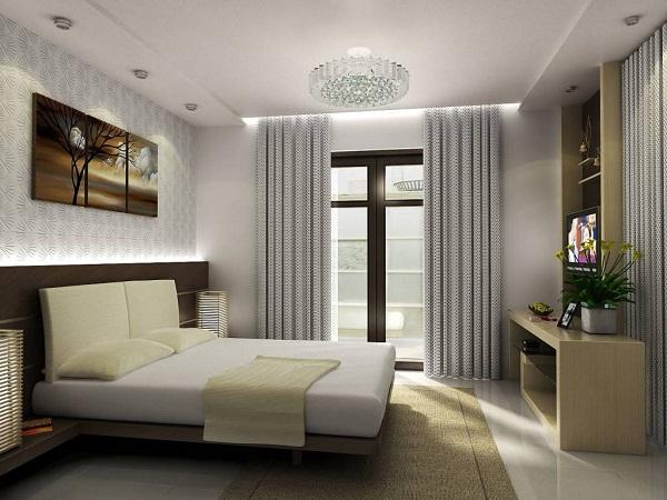 Thiết kế không gian nội thất phòng ngủ mang lại sự hài hòa