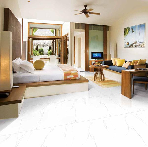 Cân nhắc về diện tích khi chọn gạch lát nền phòng ngủ
