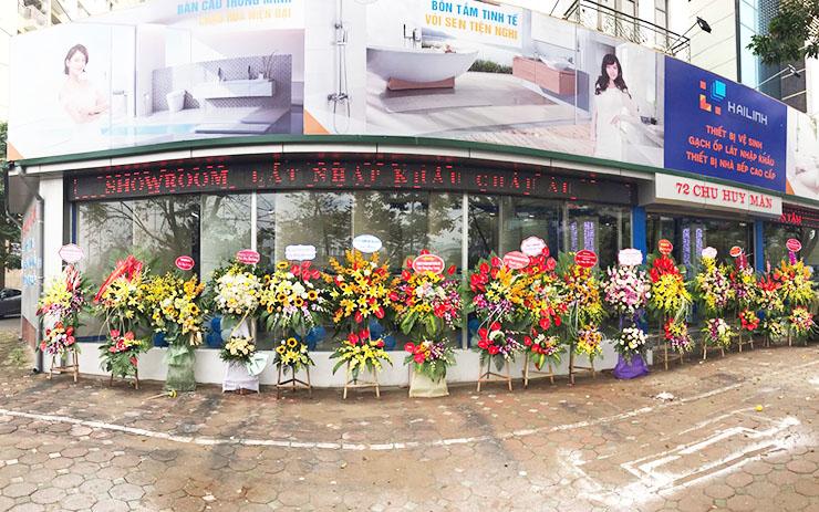 Hình ảnh bên ngoài showroom Hải Linh