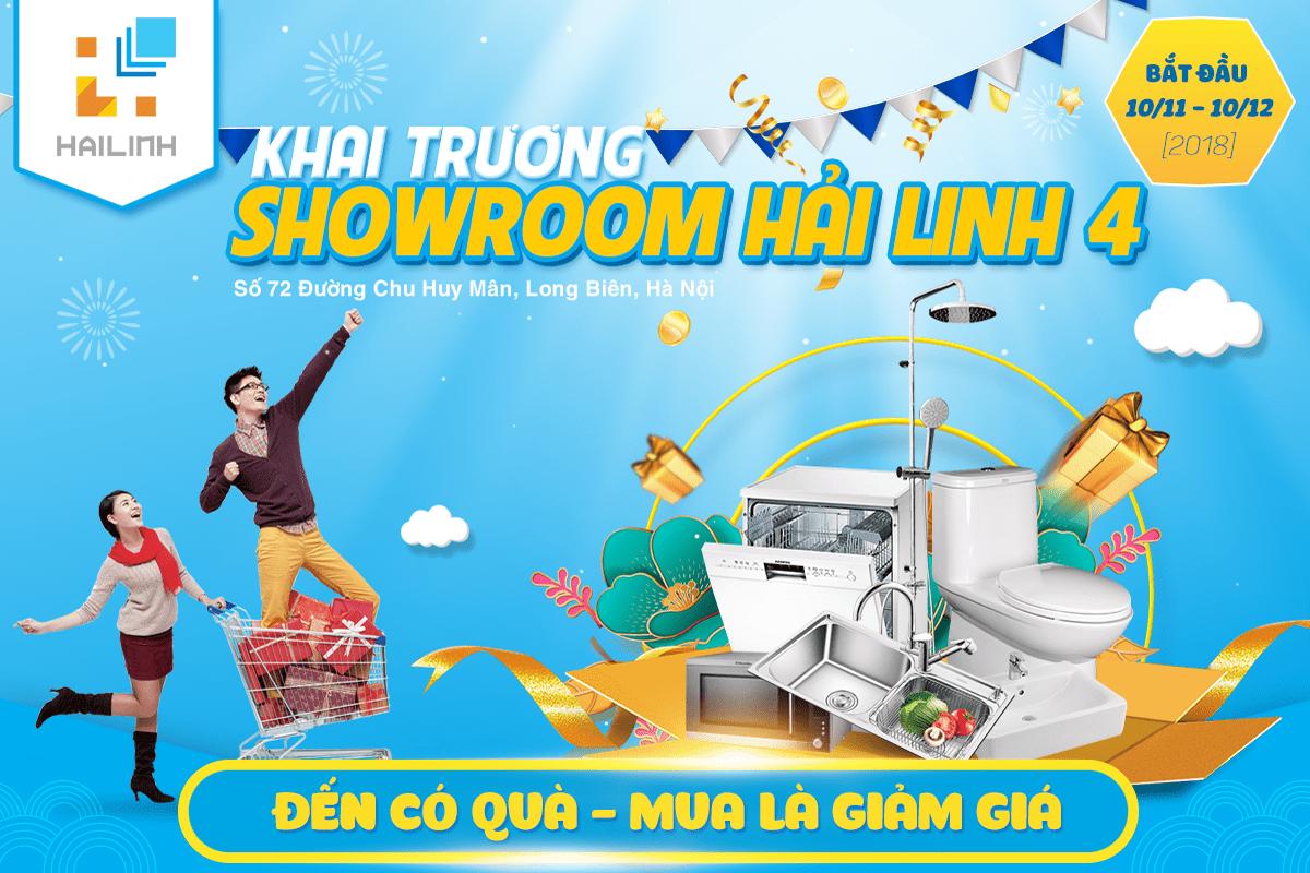 Nhận ngay khuyến mại lớn chào mừng khai trương showroom Long Biên của Hải Linh Group