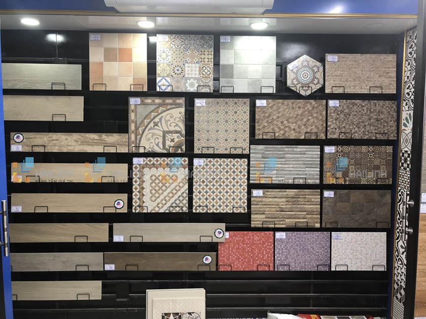 Chọn mẫu gạch ốp tường phù hợp từng không gian