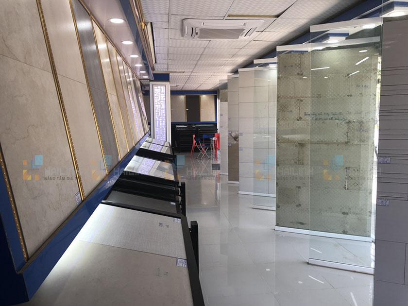 Gạch lát nền Viglacera đẹp, trưng bày bán tại showroom Hải Linh