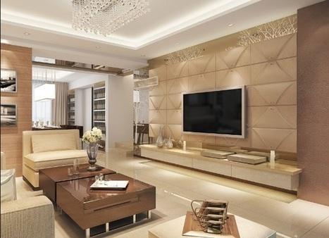 Gạch ốp tường Viglacera cho phòng khách Vạn người mê