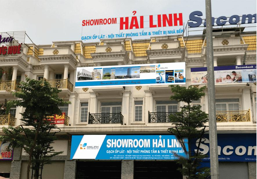 Showroom gạch Viglacera Hải Linh tại Hà Đông